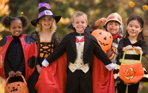 These are just random kids in Halloween costumes.  I would get in trouble for posting pictures of my actual kids.
